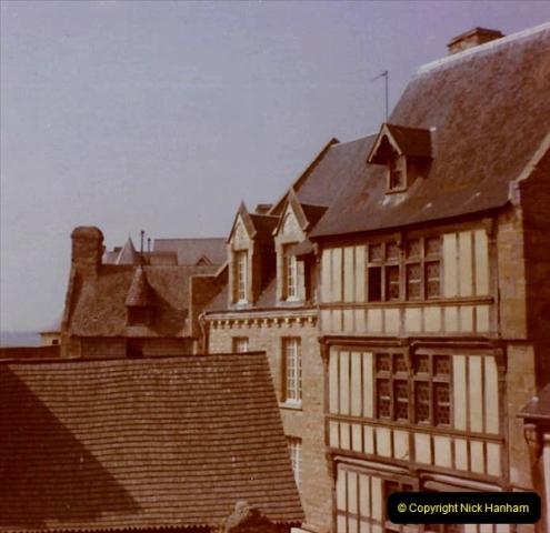 1972 Retrospective France West and North West.  (55) Mont St. Michel. 55