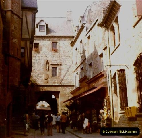 1972 Retrospective France West and North West.  (56) Mont St. Michel. 56