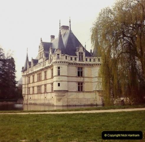 1973 Retrospective France North West and Paris. (16)  Azay Le Rideau.16