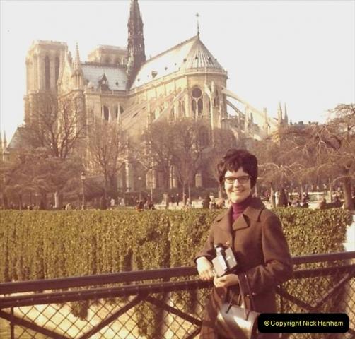 1973 Retrospective France North West and Paris. (52) Paris. 49