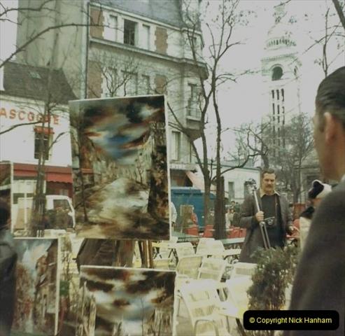 1973 Retrospective France North West and Paris. (57) Paris. 54
