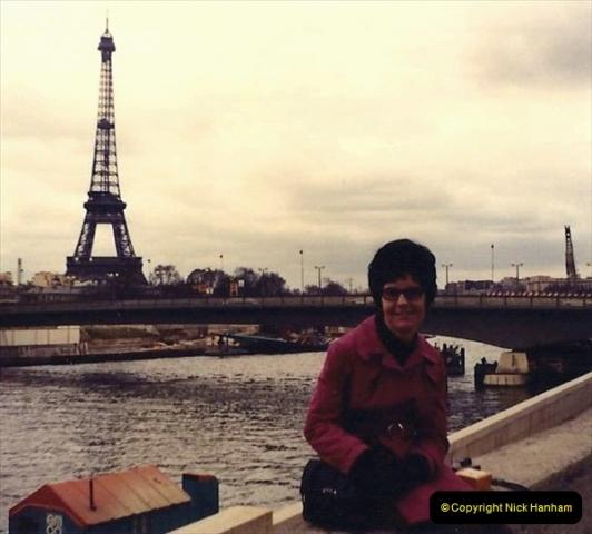 1973 Retrospective France North West and Paris. (63) Paris. 60