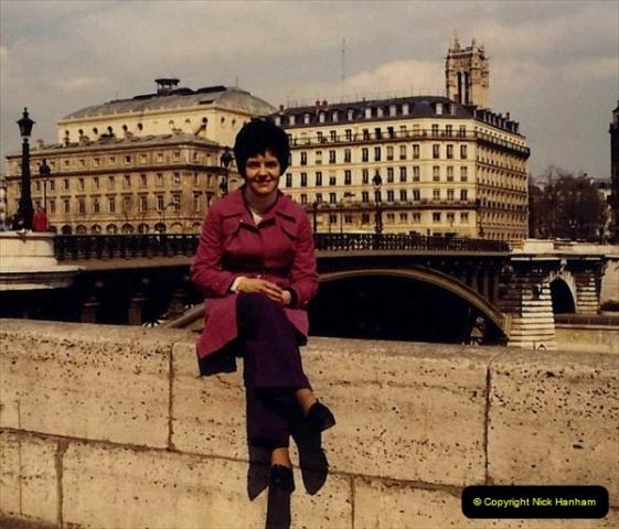 1973 Retrospective France North West and Paris. (67) Paris. 64