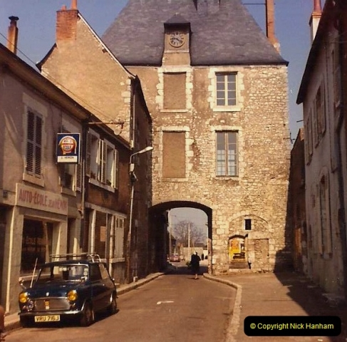 1973 Retrospective France North West and Paris. (8) Beaugency. 08