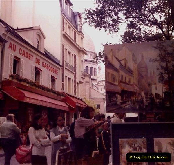 Retrospective France 1979 North Central - Paris - North Central.  (12) Paris. 12