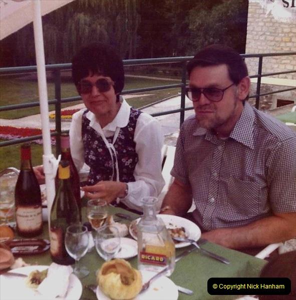 Retrospective France 1979 North Central - Paris - North Central.  (25) Chantilly. 25