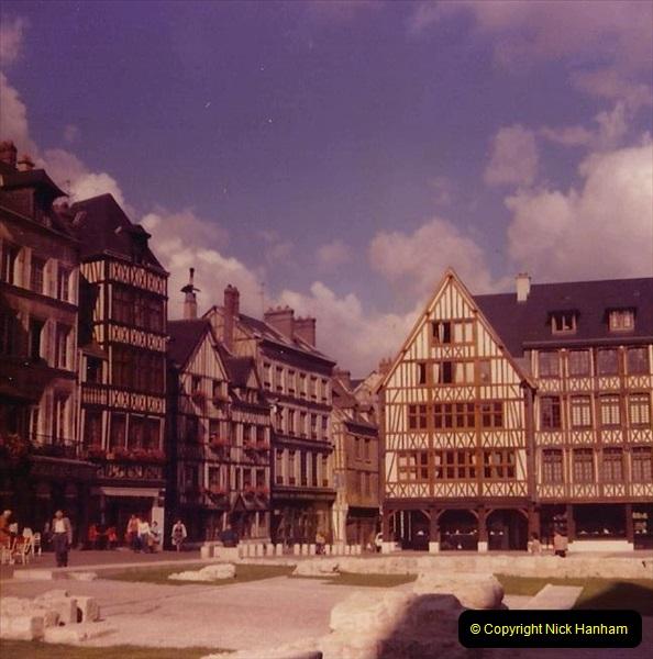 Retrospective France 1979 North Central - Paris - North Central.  (5) Rouen. 05