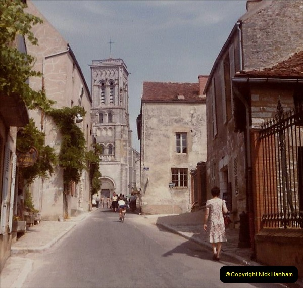 Retrospective France 1979 North Central - Paris - North Central.  (7) Vezelay. 07