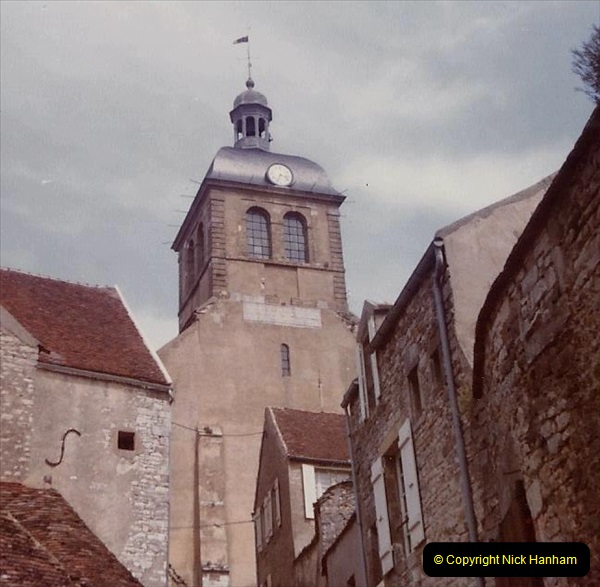 Retrospective France 1979 North Central - Paris - North Central.  (9) Vezelay. 09