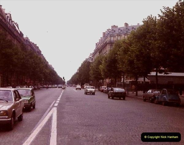 Retrospective France 1979 North Central - Paris - North Central.  (18) Paris. 18