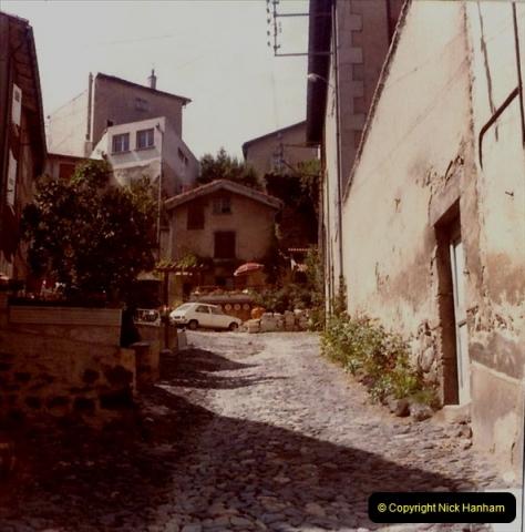 Retrospective France 1979 North Central - Paris - North Central.  (43) Le Puy. 43