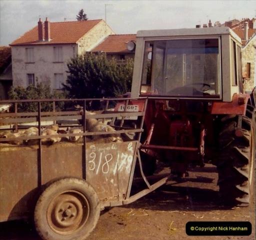 Retrospective France 1979 North Central - Paris - North Central.  (56) Sauges. 56
