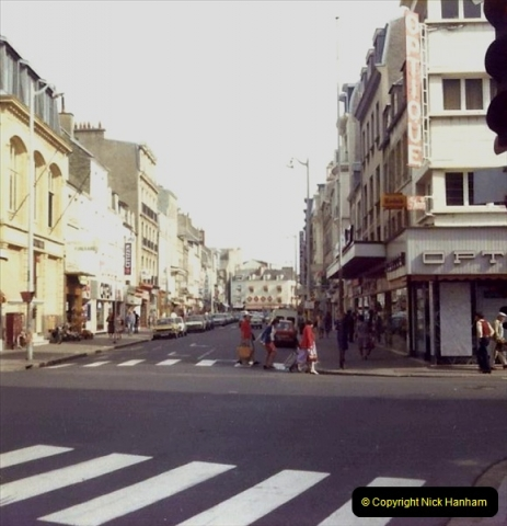 Retrospective France 1979 North Central - Paris - North Central.  (77) Cherbourg. 77