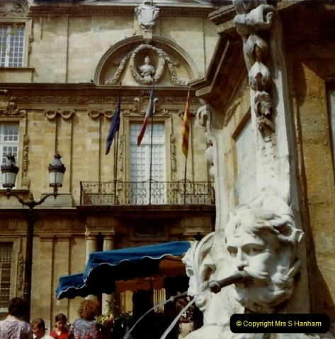 1980 Retrospective  France South. Pictures by your Host's Wife.  (11) Aix - En - Provence. 11