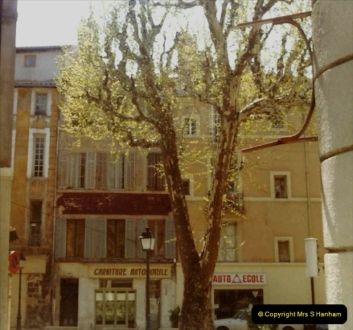 1980 Retrospective  France South. Pictures by your Host's Wife.  (13) Aix - En - Provence. 13