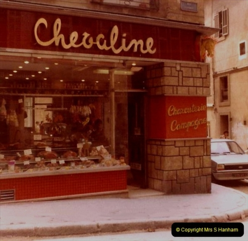 1980 Retrospective  France South. Pictures by your Host's Wife.  (14) Aix - En - Provence. 14