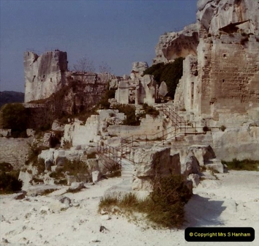 1980 Retrospective  France South. Pictures by your Host's Wife.  (21) St. Remy De Provence. 21