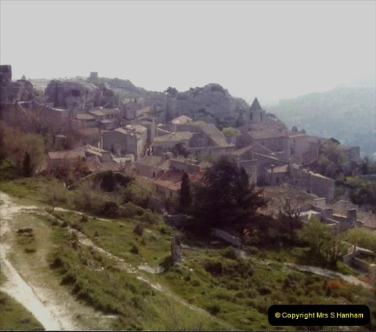 1980 Retrospective  France South. Pictures by your Host's Wife.  (22) St. Remy De Provence. 22