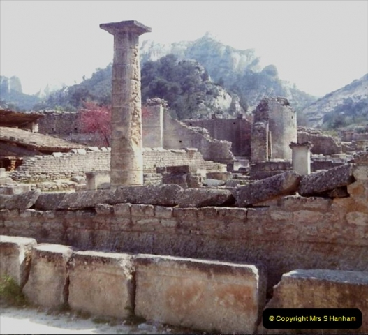 1980 Retrospective  France South. Pictures by your Host's Wife.  (24) St. Remy De Provence. 24