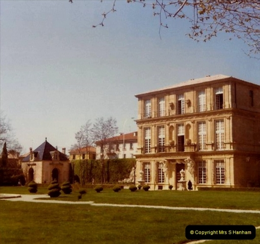 1980 Retrospective  France South. Pictures by your Host's Wife.  (3) Aix - En - Provence. 03
