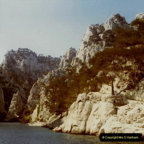 1980 Retrospective  France South. Pictures by your Host's Wife.  (30) Les Calanques De Cassis. 30