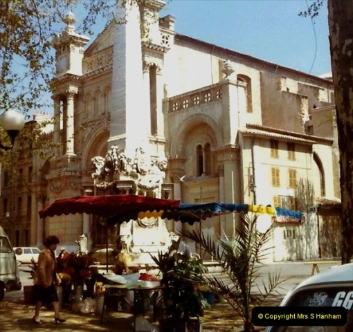1980 Retrospective  France South. Pictures by your Host's Wife.  (9) Aix - En - Provence. 09