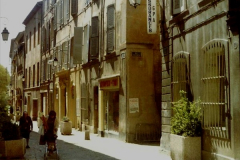 1980 Retrospective  France South. Pictures by your Host's Wife.  (1) Aix - En - Provence. 01