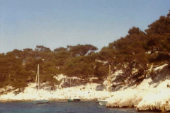 1980 Retrospective  France South. Pictures by your Host's Wife.  (29) Les Calanques De Cassis. 29