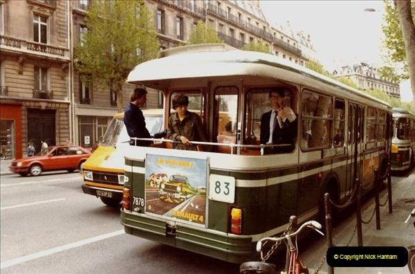 FRANCE 1982. Paris. (12) 20