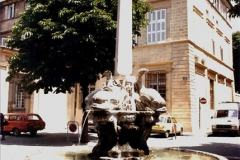 1984 Retrospective France North to South to North. (29) Aix En Provence. 029