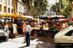 1984 Retrospective France North to South to North. (39) Aix En Provence. 039