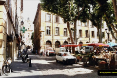 1984 Retrospective France North to South to North. (40) Aix En Provence. 040