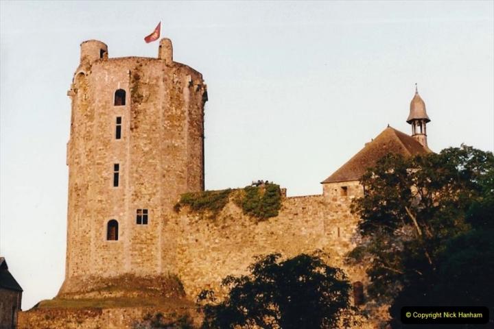 1986 Brittany, France. (18) Chateau De Bricquebec.018