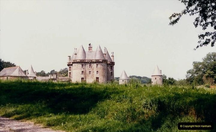 1986 Brittany, France. (23) Chateau De Landal. 023