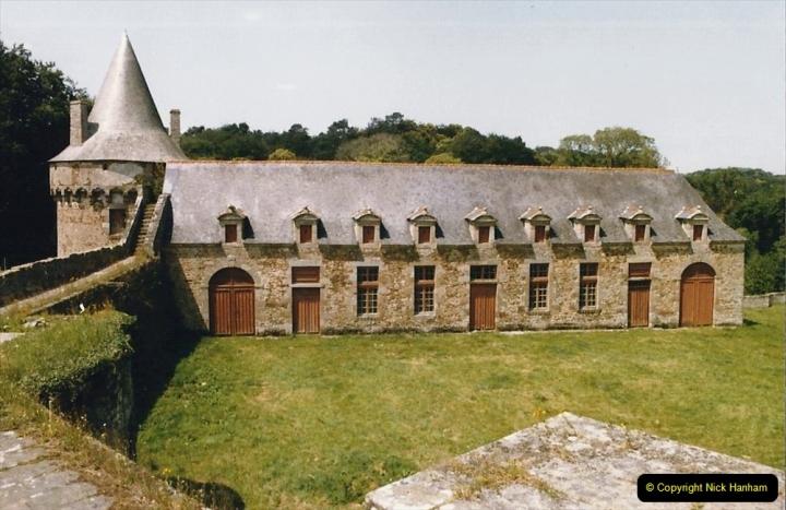1986 Brittany, France. (26) Chateau De Landal. 026