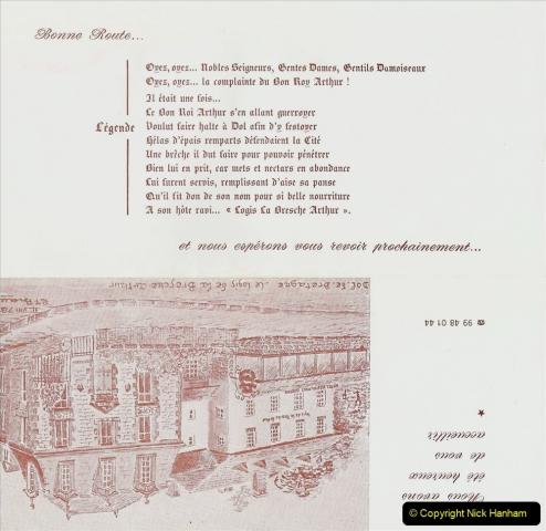 1986 Brittany, France. (31) Dol De Bretagne - Logis De France. 031
