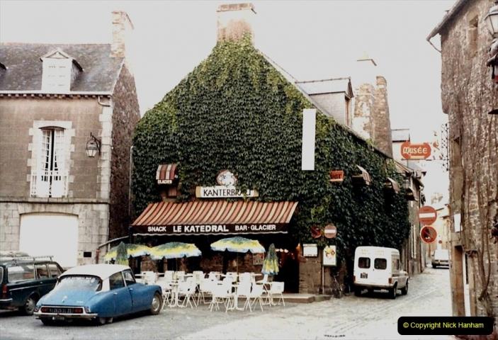 1986 Brittany, France. (36) Dol De Bretagne. 036