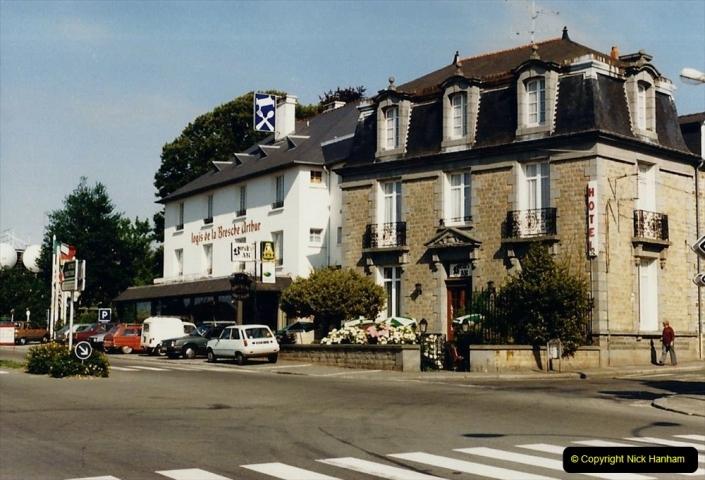1986 Brittany, France. (37) Dol De Bretagne. 037