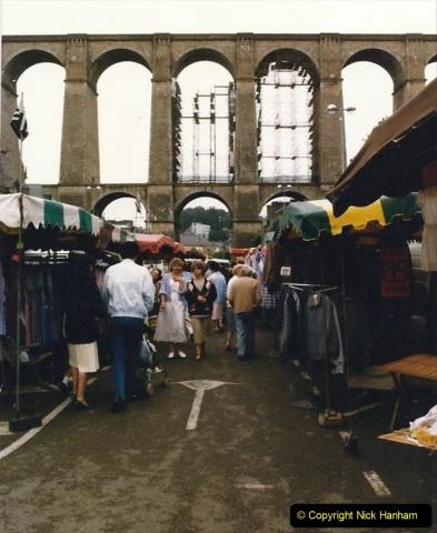 1986 Brittany, France. (48) Morlaix. 048