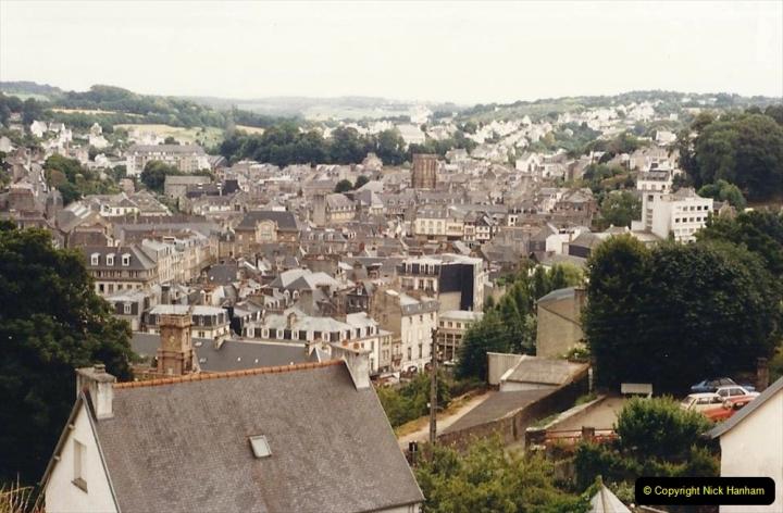 1986 Brittany, France. (49) Morlaix. 049
