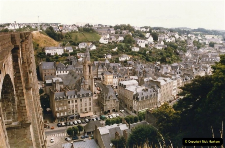 1986 Brittany, France. (50) Morlaix. 050