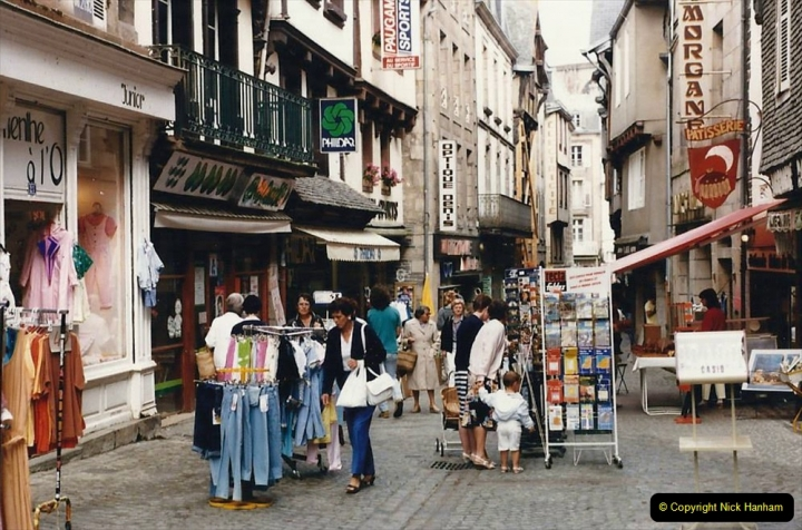 1986 Brittany, France. (52) Morlaix. 052