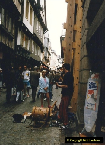 1986 Brittany, France. (53) Morlaix. 053