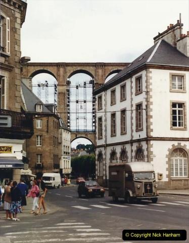 1986 Brittany, France. (54) Morlaix. 054