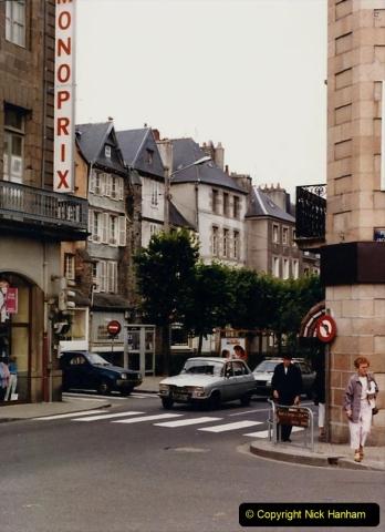 1986 Brittany, France. (59) Morlaix. 059