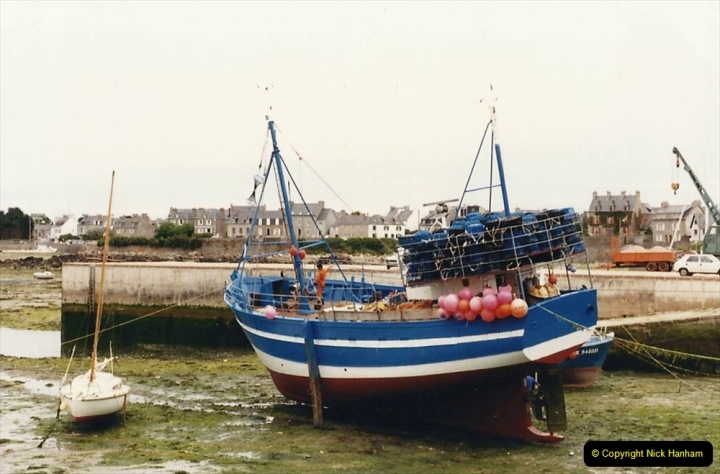 1986 Brittany, France. (83) Roscoff. 082
