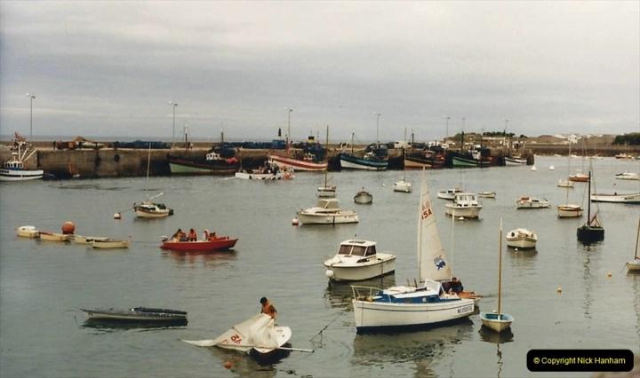 1986 Brittany, France. (86) Roscoff. 085