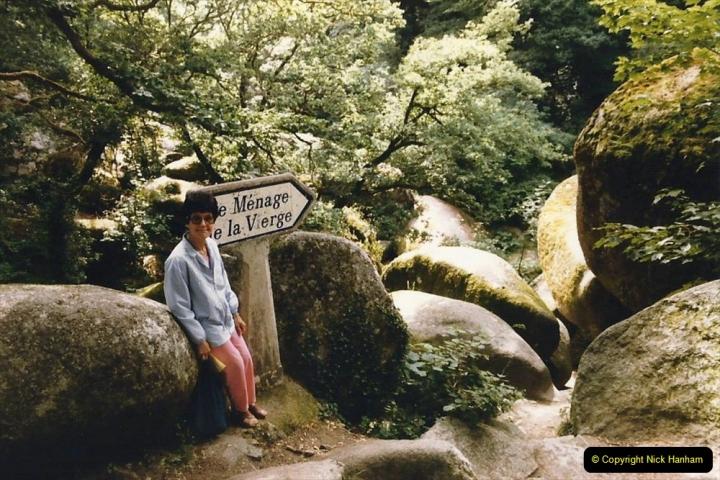 1986 Brittany, France. (87) Huelgoat. 086