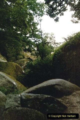 1986 Brittany, France. (90) Huelgoat. 090