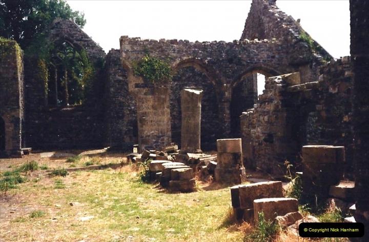 1987 France. (54) Vieux Bourg near Quimerc'h (Foret de cranou). 54